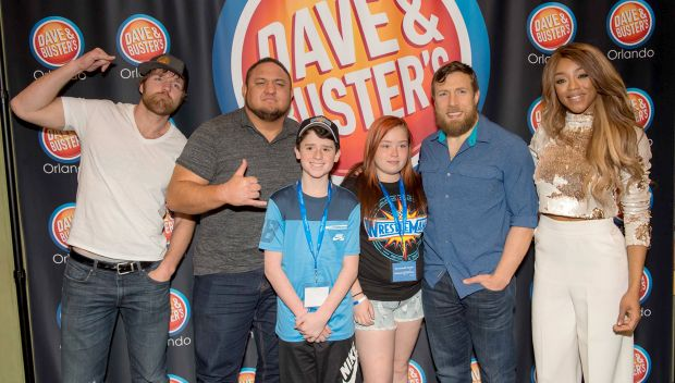 WWE Superstars join Make-A-Wish and grant private wishes before WrestleMania: photos