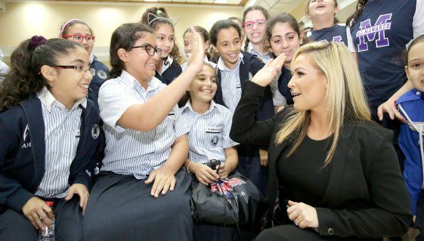 Natalya and Alicia Fox host a Be a STAR rally in Dubai: photos