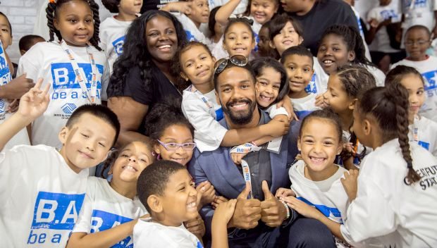 Superstars host a Be a STAR rally during SummerSlam Week: photos