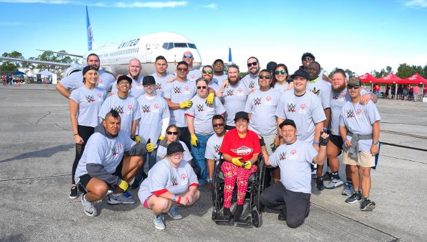 NXT Superstars and Special Olympics Florida Athletes compete in the Special Olympics Plane Pull: photos