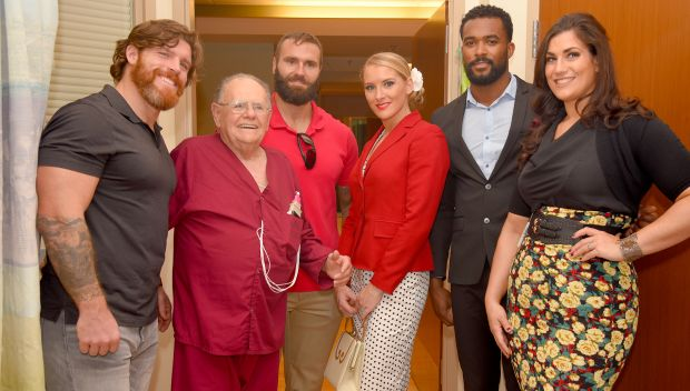 NXT Superstars visit the Orlando VA Medical Center: photos