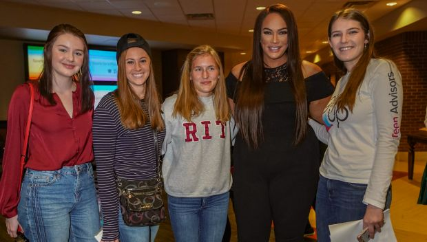 WWE and Girl Up host a Sports for a Purpose Forum during Royal Rumble Weekend: photos