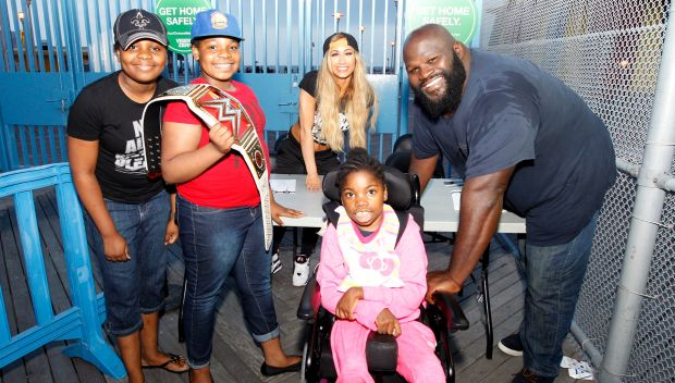 WWE and the Brooklyn Cyclones host SummerSlam Night with local Boys & Girls Clubs members: photos