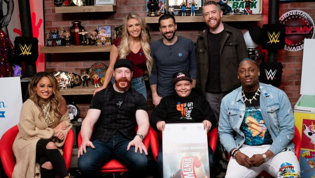 Israel's wish to go to WrestleMania is granted on WWE's The Bump: photos