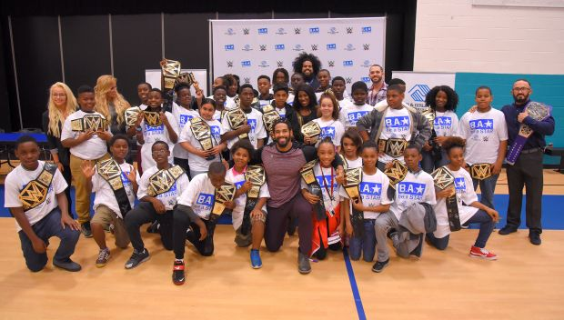 WWE and NXT Superstars visit Boys & Girls Clubs of Central Florida: photos