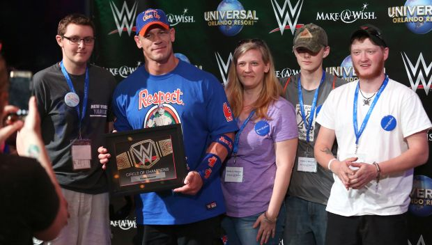 WWE, Make-A-Wish celebrate Circle of Champions honorees at WrestleMania party