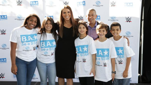 WWE and Boys & Girls Club of Miami-Dade host a Be a STAR rally: photos