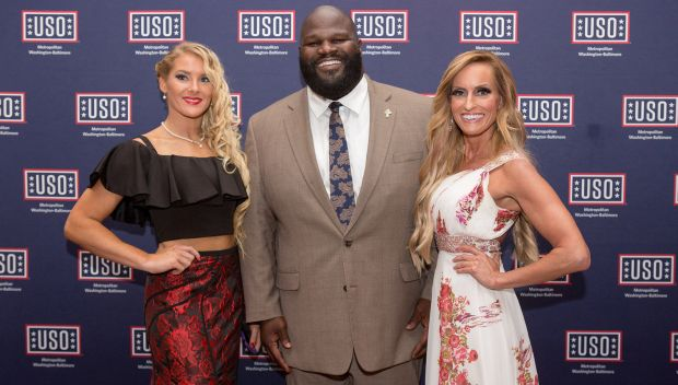 WWE honors U.S. military and their spouses at USO-Metro's 36th Annual Awards Dinner: photos