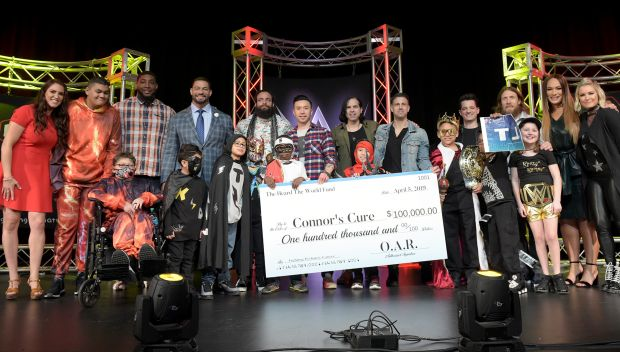 WWE hosts the WrestleMania 35 Connor's Cure Kid Superstar Reveal: photos