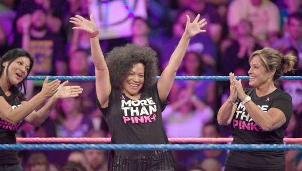 Daniel Bryan honors Susan G. Komen's More Than Pink standouts on SmackDown: photos