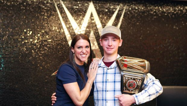 WWE grants Colby's wish in honor of World Wish Day: photos