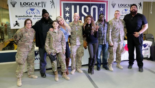 WWE Tribute to the Troops 2016 handshake tour, part two: photos