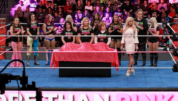 The Raw and SmackDown Women's divisions join Susan G. Komen and Dana Warrior in the fight against breast cancer: photos