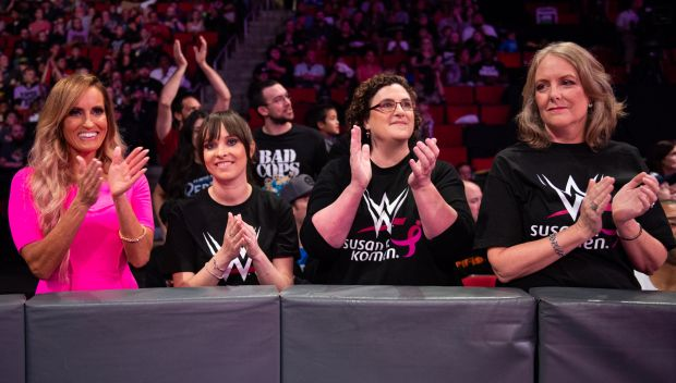 Dana Warrior blogs about WWE and Susan G. Komen's fight against breast cancer