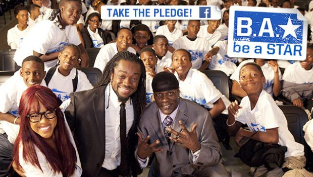 Take the Be a STAR Pledge on Facebook