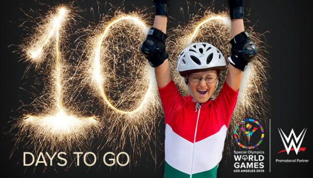 100 days to go: 2015 Special Olympics World Games