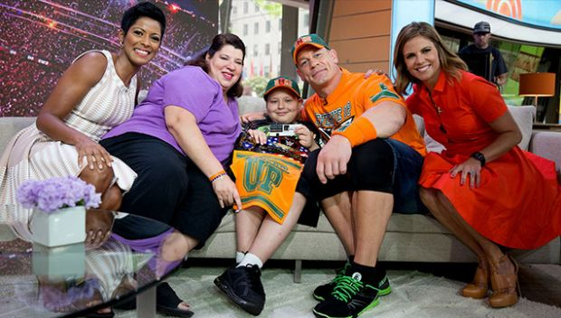 Make-A-Wish celebrates John Cena for granting record 500 wishes