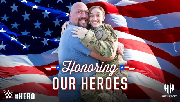 WWE Superstars honor their heroes for Memorial Day 2016