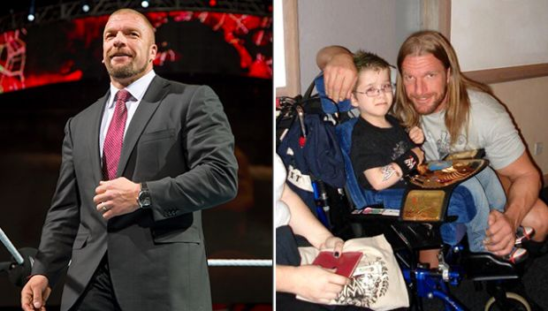 The difference a wish can make: The story of Triple H and Luke