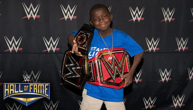 "Jarrius ""JJ"" Robertson to receive Warrior Award at 2018 WWE Hall of Fame Induction Ceremony"