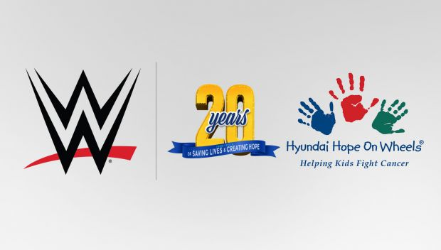 Hyundai Hope on Wheels announces partnership with WWE in support of National Childhood Cancer Awareness Month