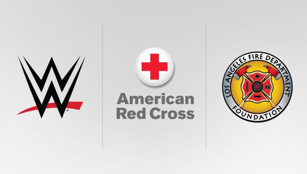 WWE supports the Red Cross and LA Fire Department Foundation in the wake of California wildfires
