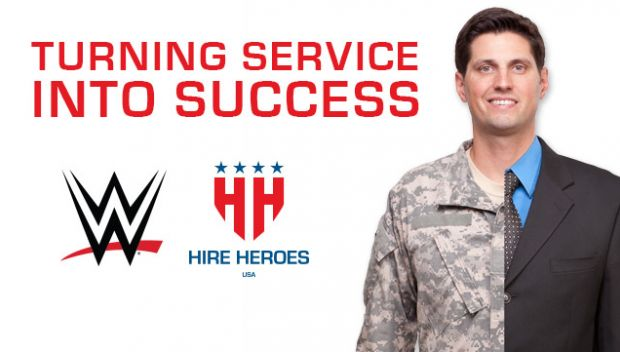 WWE supports Hire Heroes USA