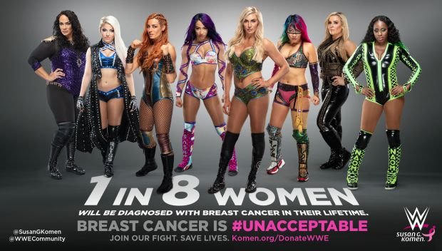 WWE continues support for Susan G. Komen during Breast Cancer Awareness Month