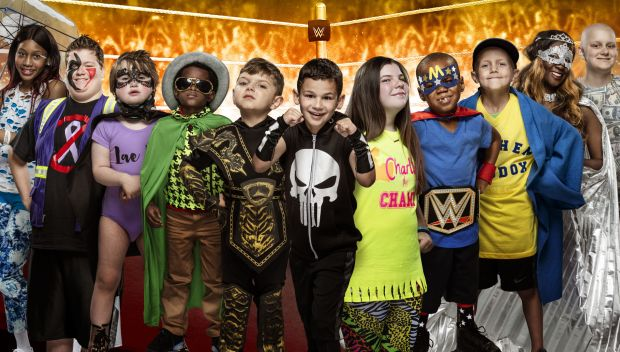 WWE and Connor's Cure support Pediatric Cancer Awareness Month