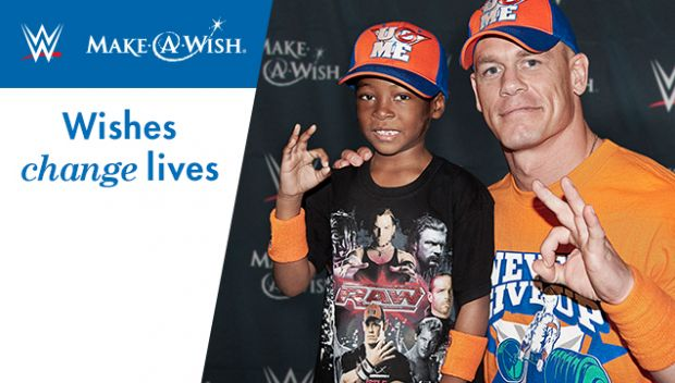 Become a Wishmaker with WWE and Make-A-Wish