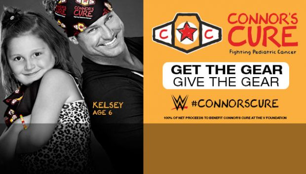 WWE continues support for Pediatric Cancer Awareness Month