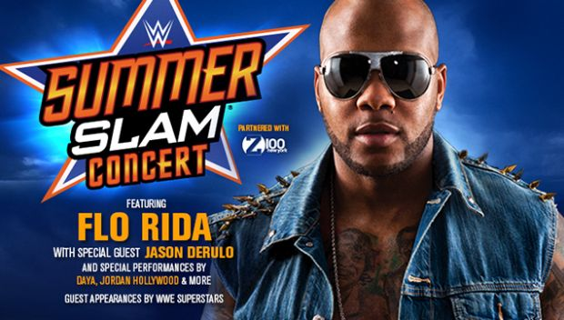 Flo Rida to headline SummerSlam concert benefitting Connor's Cure