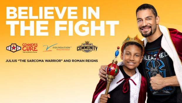WWE supports Connor's Cure during Pediatric Cancer Awareness Month