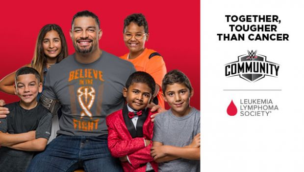 WWE, Roman Reigns and Leukemia & Lymphoma Society are committed to cures and care for kids with cancer