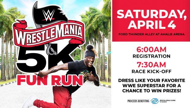 WrestleMania 5K Fun Run to Benefit Boys & Girls Clubs of America