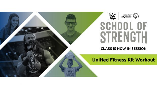 Drew McIntyre leads new Special Olympics School of Strength workout