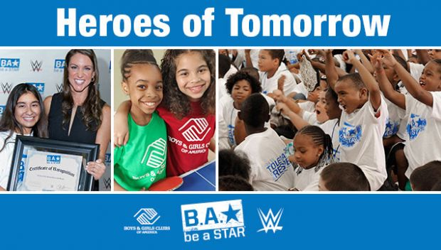 Boys & Girls Clubs of America and WWE launch new national partnership