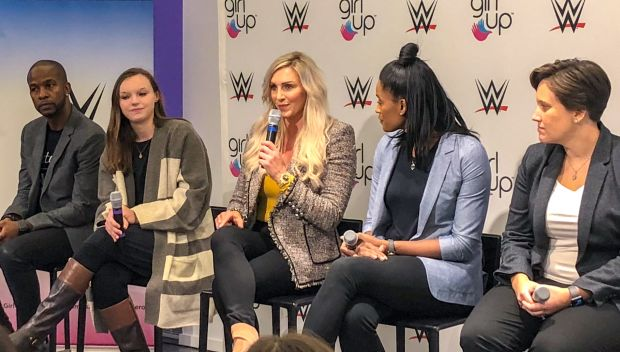 WWE and Girl Up host Sports for a Purpose Forum in New York