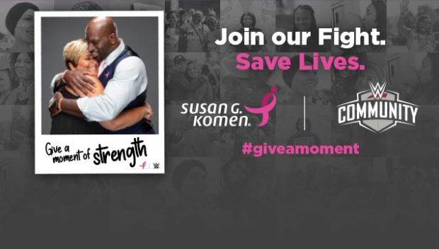 WWE supports Susan G. Komen for Breast Cancer Awareness Month
