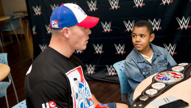 John Cena grants Ryan's wish in Memphis: photos
