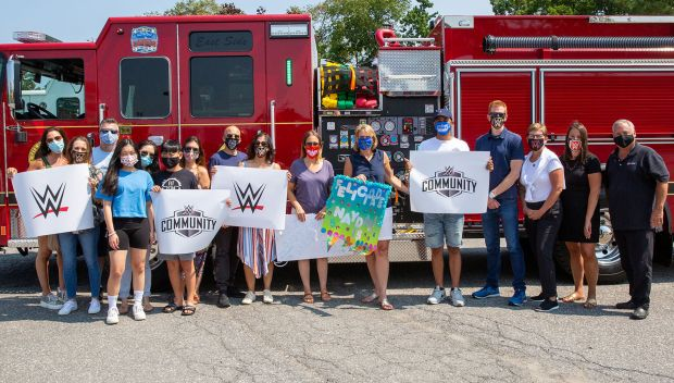WWE employees team with Make-A-Wish Connecticut to celebrate Naydali's Quinceanera: photos
