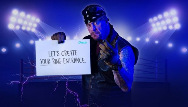Omaze invites you to enter the ring with The Undertaker at the WWE Performance Center