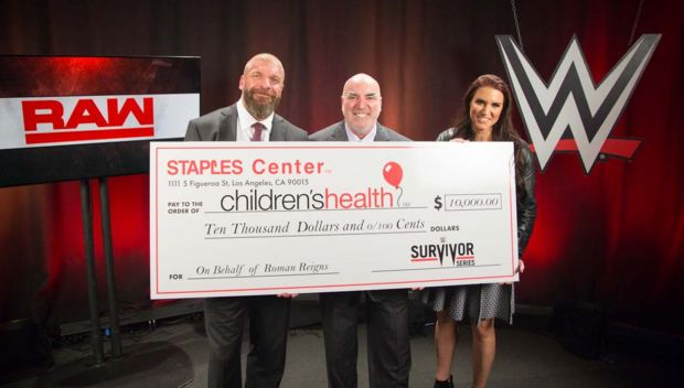 STAPLES Center donates $10,000 to charity in honor of Roman Reigns