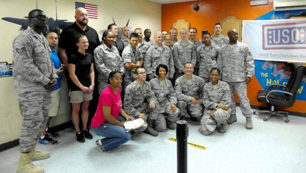WWE Superstars visit U.S. Troops in Abu Dhabi: photos