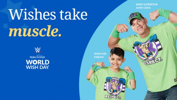 Make-A-Wish embarks on month-long World Wish Day campaign with John Cena