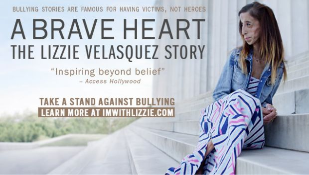 'A Brave Heart: The Lizzie Velasquez Story' now available