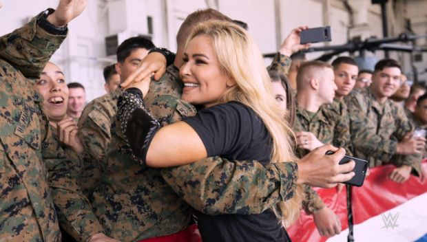 WWE honors the United States Armed Forces on Veterans Day