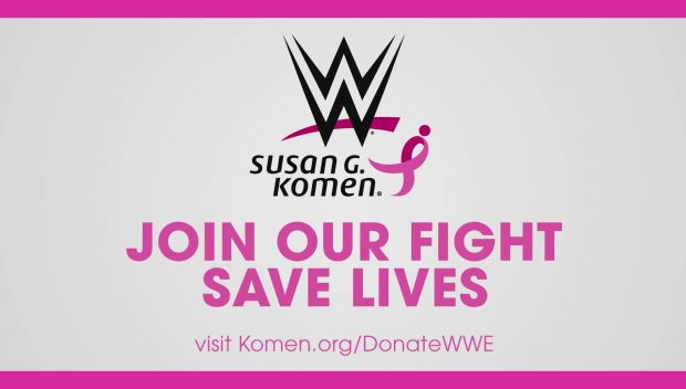 Watch: WWE continues its partnership with Susan G. Komen in the fight against breast cancer