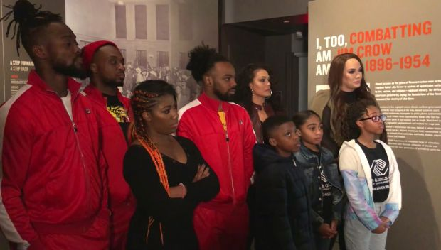 WWE honors Black History Month
