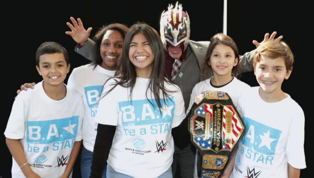 WWE celebrates National Boys & Girls Club Week